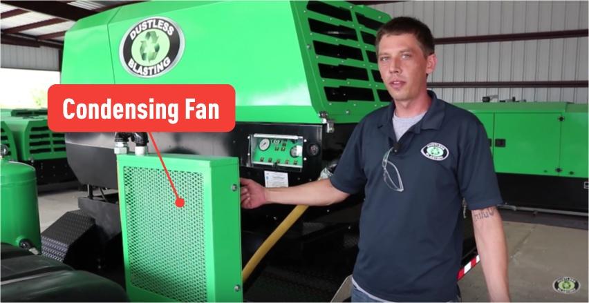 maintenance-condensing-fan