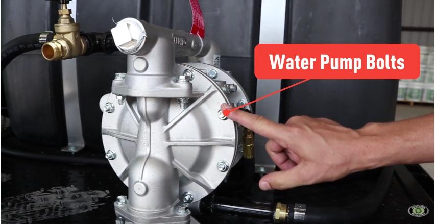 maintenance-water-pump-bolts